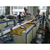 Quality 22KW Motor Power PVC Profile Extrusion Line , UPVC Door And Window Making Machine for sale
