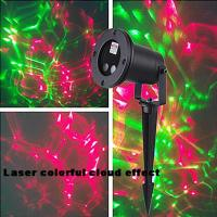 Wholesale Moving Green & Red Firefly Lamp Laser Light Landscape Projector,Remote control from china suppliers