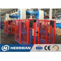 Buy cheap Aluminum Conductor Cable Rewinding Machine With Taping Head 100m / Min Line Speed from wholesalers