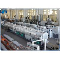Wholesale 75~250mm HDPE Pipe Extruder Machine Production Line For Water Supply Pipe / Gas Pipe from china suppliers