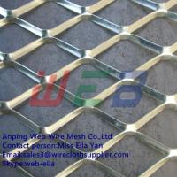 Buy cheap Galvanized expanded metal mesh for construction(Anping Factory) from wholesalers