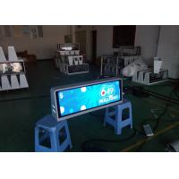 Quality P2.5 Taxi Mobile LED Display For Outdoor Advertising Full Color  Car Top Led Display Most High Definition Taxi Led for sale