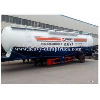 Wholesale Powder material transportation cement tanker trailer with volume with warranty and spare parts from china suppliers