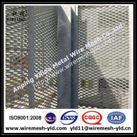 Wholesale 80*200mm hole Ornamental & Decorative Expanded metal for wall facade from china suppliers