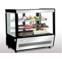 Quality Air Cooling Countertop Bakery Display Case 120L / 160L LED Light Digital Dixell Controller for sale