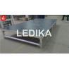 Buy cheap Portative Aluminum Adjustable Stage Platform Show Folding Stage 18mm Black from wholesalers