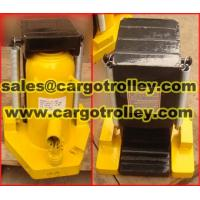 Quality Hydraulic toe jack supplier FINER lifting tools for sale