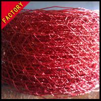 Wholesale Decorative Hexagonal Wire Netting,Artwork Colour Painted Hexagonal Mesh,Baking Finish from china suppliers