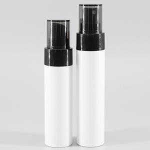 China White Cylinder 12g 70ml PET Plastic Spray Bottle on sale