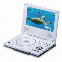 Wholesale 7-inch Portable DVD Player with Parental Lock Function and 16:9 or 4:3 Aspect Ratio from china suppliers