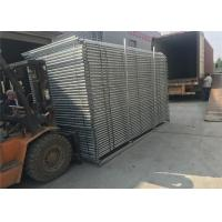 Wholesale Portable Construction Fencing Panels 6'x12'  Mesh 63mmx63mm diameter 2.9mm hot dipped galvanized 42 microns at all welds from china suppliers