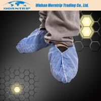 Disposable Non Skid Waterproof Dustproof PP PE CPE Shoe Cover