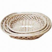 Wholesale Natural Willow Basket Set, Made of Wicker from china suppliers