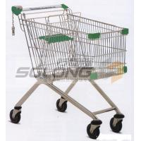Wholesale Unfolding Colored Supermarket Shopping Trolley Baskets Steel Material from china suppliers