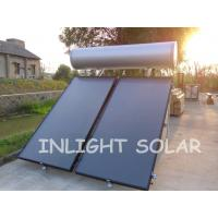 Wholesale Pressurized Flat Plate Solar Collector Silver Fluorocarbon Type , 2M*1 M*0.08M from china suppliers
