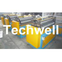Wholesale Roof Sheet 1.0 - 4.0mm Corrugated Sheet Curving Machine With 120mm Diameter Axis from china suppliers