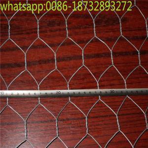 Wholesale 1/4 inch  chicken wire mesh/ galvanized hexagonal wire netting/ rabbit mesh/ Hexagonal Chicken Wire Mesh from china suppliers