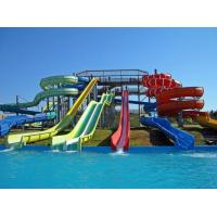 Wholesale water park custom spiral water slide , outdoor water slides for kids from china suppliers