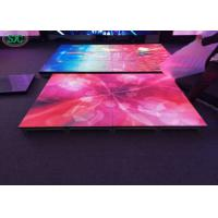 Wholesale Outdoor P8.928 full color led dance floor 1000mmX500m cabinet 3 years warranty from china suppliers