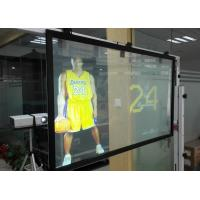 Wholesale 1.52X30m Rear Projection Fabric / holographic transparent film For Shopping Mall from china suppliers