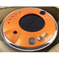 Wholesale Anions solar car air purifier shell with negative ion HDJHQ3-3 orange color from china suppliers