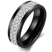 Wholesale New Super Fashion Tagor Jewelry Factory Ceramic Tungsten Series Ring TYWR022 from china suppliers
