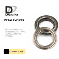Wholesale Outdoor Clothing Metal Eyelet Rings Replacement Good Chemical Resistance Large Size from china suppliers