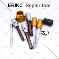 Wholesale ERIKC fuel injector fit tools high pressure common rail fuel injector dismantling equipment fix injection assy from china suppliers