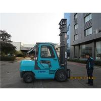 3.5 ton diesel forklift truck with mechanical transmission and cabin