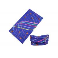 Wholesale Colorful Lines UV Buff Headwear 25 * 50 CM For Running / Climbing / Fishing from china suppliers