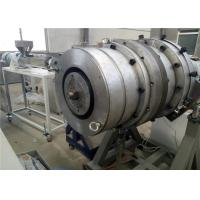 Buy cheap Single Screw Pe Pipe Extrusion Line , Pipe Extrusion Machine For Water Supply from wholesalers