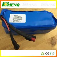 Wholesale 36V 20Ah Electric Bicycle Battery Pack / Lithium Rechargeable Battery Pack Flat Top from china suppliers