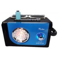 Wholesale LED Flash Portable 2.0 Sound Channel Box Blue Woodiness Speaker #Spe-R12A from china suppliers