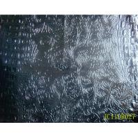 Wholesale Embossed crocodile shiny pu leather with woven backing for bags from china suppliers