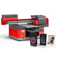 China Stable UV Digital Printing Machine , LED UV Flatbed Printer For Glass on sale