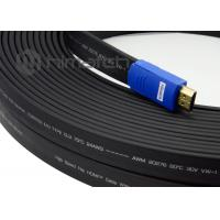 Full HD 1080P Industrial HDMI Cable / Long Hdmi Cable 15m 25m 30m With Or Without Booster