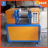 Wholesale Professional Plastic Rubber Testing Equipment 4 Inch 2 Way Laboratory Mixing Mill from china suppliers