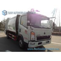 Wholesale 8000L 8M3 HOWO 4 X 2 Garbage Compactor Truck Q235 Carbon Steel Tank from china suppliers