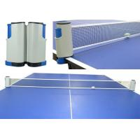 Quality Logo Printed Retractable Portable Wholesale Table Tennis Net And Post for sale