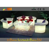 Wholesale Outdoor / Indoor Glowing Furniture LED Sofa For Club / Corporate Events from china suppliers