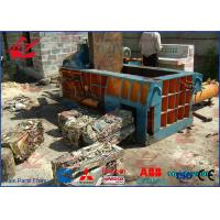 Wholesale PLC Automatic Control Aluminum Can Compactor Machine , Scrap Steel Baler Machines 6500KG from china suppliers