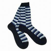 Wholesale Men's cotton socks, customized materials, colors and sizes are accepted from china suppliers