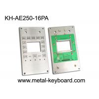 Wholesale Customizable Industrial Keypad , Stainless Steel Kiosk Keypad 16 Keys from china suppliers