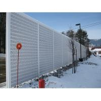 Wholesale Perforated Metal Sound Barriers,Road Noise Barrier Walls,Soundproof Screen Fence from china suppliers