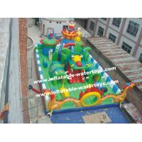 China 0.55mm PVC Tarpaulin Oil &Water Resistant Inflatable Playground for Entertainment on sale