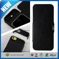 Wholesale IPHONE 5C Cell Phone Battery Case Viewing Stand , iPhone 5s Case With Battery from china suppliers