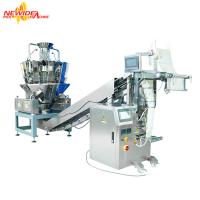 Wholesale Spice Pouch Packaging Machine For Dried Aromatic Leaf With Chain Bucket from china suppliers