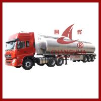 Wholesale Tri axles carbon steel or aluminium fuel tanker trailer with different compartments oil from china suppliers