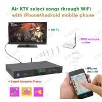 Quality Factory wholesale  Android Karaoke player ,Support MKV/VOB/DAT/AVI/MPG songs ,songs encryption for sale