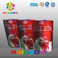 Wholesale Stand Up Pet Food Pouch With Zipper / Plastic Food Grade Animal Tukey Food Bag from china suppliers